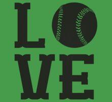 Baseball Love 2 Kids Clothes
