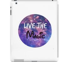 Live the Magic iPad Case/Skin