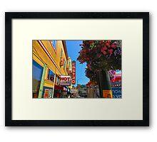 Castro Street Framed Print