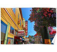 Castro Street Poster