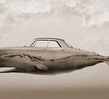 the Buick of the sea - sepia by Vin  Zzep