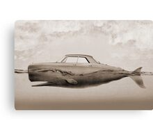 the Buick of the sea - sepia Canvas Print