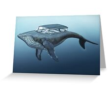 Mercury cruiser of the sea Greeting Card