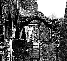 Neath Abbey Ruins #2 by Georgia Marston