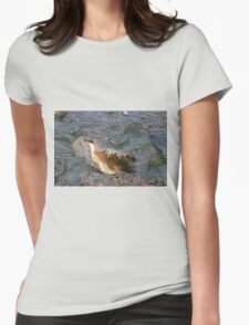 Alligator Action Womens Fitted T-Shirt
