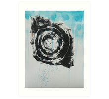 Untitled Abstract Study 41 Art Print