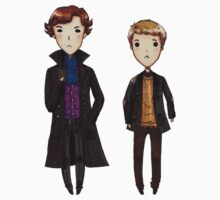 Sherlock and John  by Haleymoon