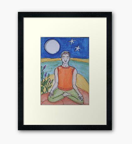 Tranquil Meditation Framed Print