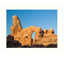 Turret Arch in Morning Light Art Print