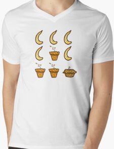Banana Banana Banana Terracotta! Mens V-Neck T-Shirt