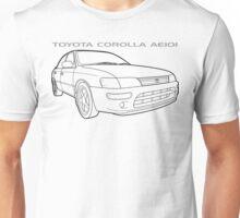 Toyota Corolla AE101 GT Sedan Ver.2 Unisex T-Shirt