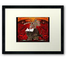 Opera Night Framed Print
