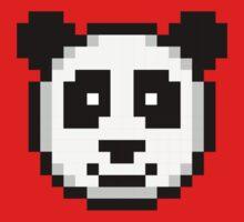 Pixel Panda Baby Tee