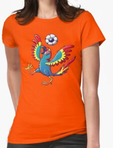 Cool Macaw Playing with a Soccer Ball on its Head T-Shirt