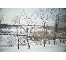 hokkaido winter Photographic Print