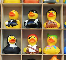 I Always Take My Rubber Ducks With Me by Alexandra Lavizzari