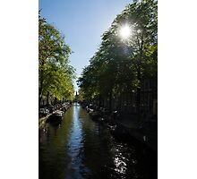 Amsterdam Spring - Green, Sunny and Beautiful Photographic Print