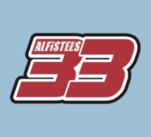 alfistees number 33 t shirt cool retro racing by lowgrader