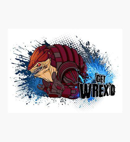 Get WREX'D! Photographic Print