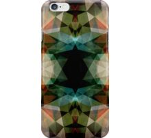 Geometric Textured Abstract  iPhone Case/Skin