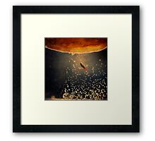 toward the sun Framed Print
