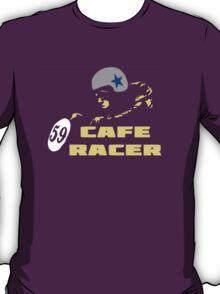 cafe racer motorbike vintage rocker bike motorcycle T-Shirt