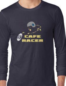 cafe racer motorbike vintage rocker bike motorcycle Long Sleeve T-Shirt