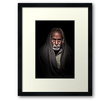 Dark Thoughts Framed Print