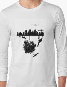Man Above and Nature Below Long Sleeve T-Shirt