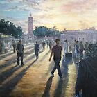 Jamaa el Fna, Marrakech by Barnaby Edwards