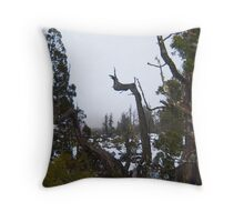 central highlands trees Throw Pillow