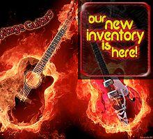Voltage Guitars Premium Vintage and New Guitars by voltageguitar
