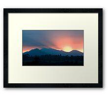 Shephards Delight Framed Print