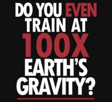 Do you even train at 100x Earth gravity? - Dragon Ball Z - Simple by Lamamelle