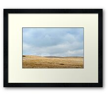 Ribblehead moorland Framed Print