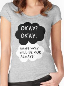 TFIOS T-2 Women's Fitted Scoop T-Shirt