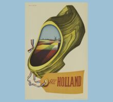Vintage poster - Holland Kids Tee