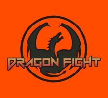 Dragon Fight Video Game Logo by shaz3buzz2