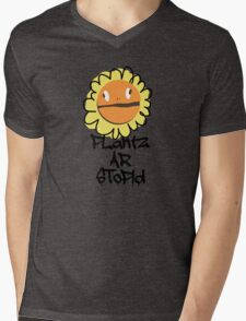 PLantz AR SToPiD, Art Inspired by Plants Versus Zombies: Garden Warfare Mens V-Neck T-Shirt
