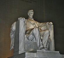 Lincoln Memorial by Gilda Axelrod