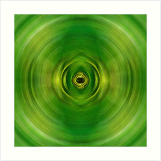 New Growth - Green Art By Sharon Cummings by Sharon Cummings