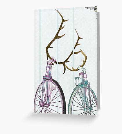 Bicycle Love Greeting Card