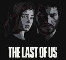 Joel and Ellie The Last of Us by touhidkudchi