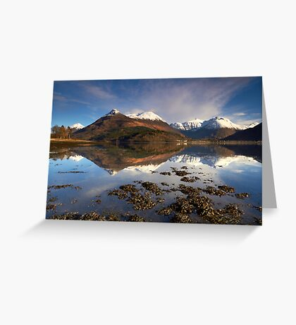 Reflections of Glencoe Greeting Card
