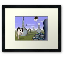Missing Magritte  Framed Print