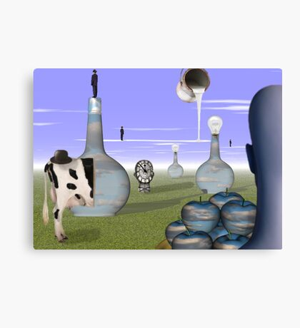 Missing Magritte  Canvas Print