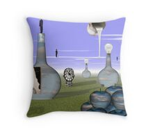Missing Magritte  Throw Pillow