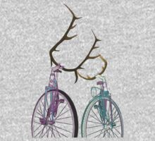 Bicycle Love One Piece - Long Sleeve