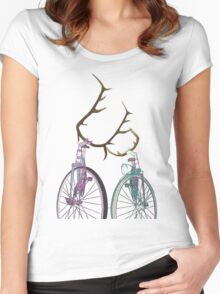 Bicycle Love Women's Fitted Scoop T-Shirt