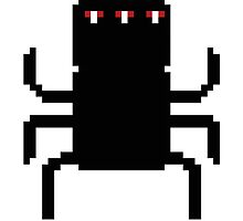 8-Bit Spider-like Creature by adamhunter